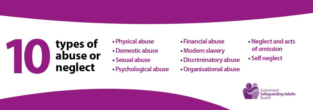 10 types of abuse or neglect stripped